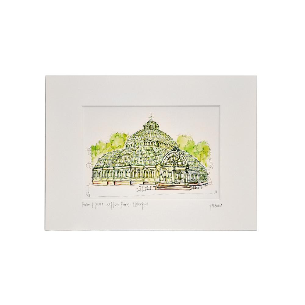 Palm House Print – Freida McKitrick