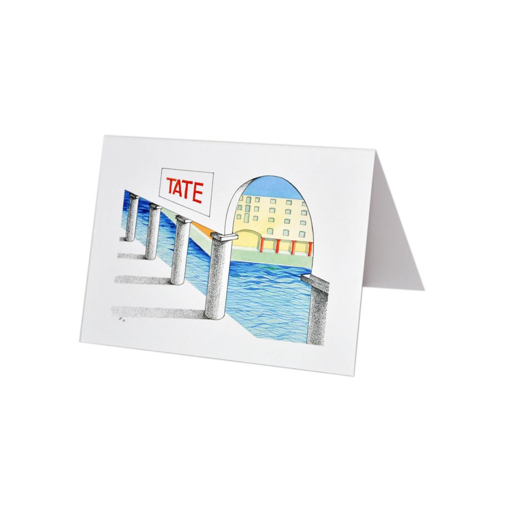 Exclusive John Fitchett Tate Gallery and Albert Dock card