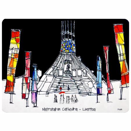 Freida McKitrick 'Metropolitan Cathedral' Place Mat