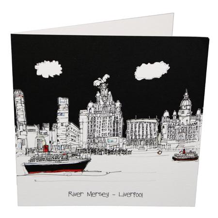 Freida McKitrick 'River Mersey' Card