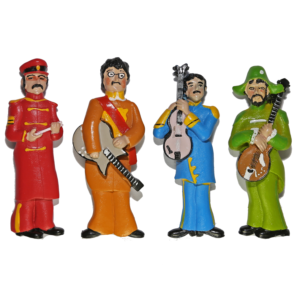 Beatles Magnets – Sgt. Pepper