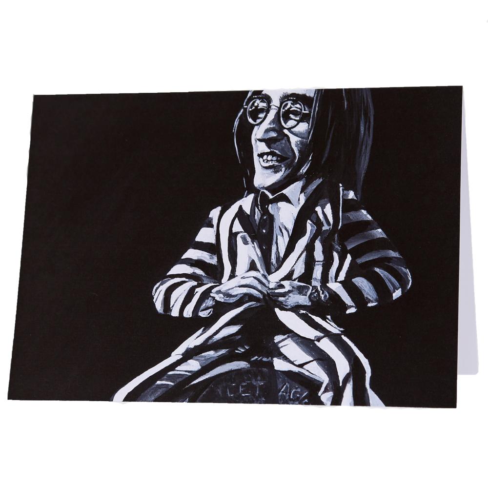John Lennon Beatle Juice Card