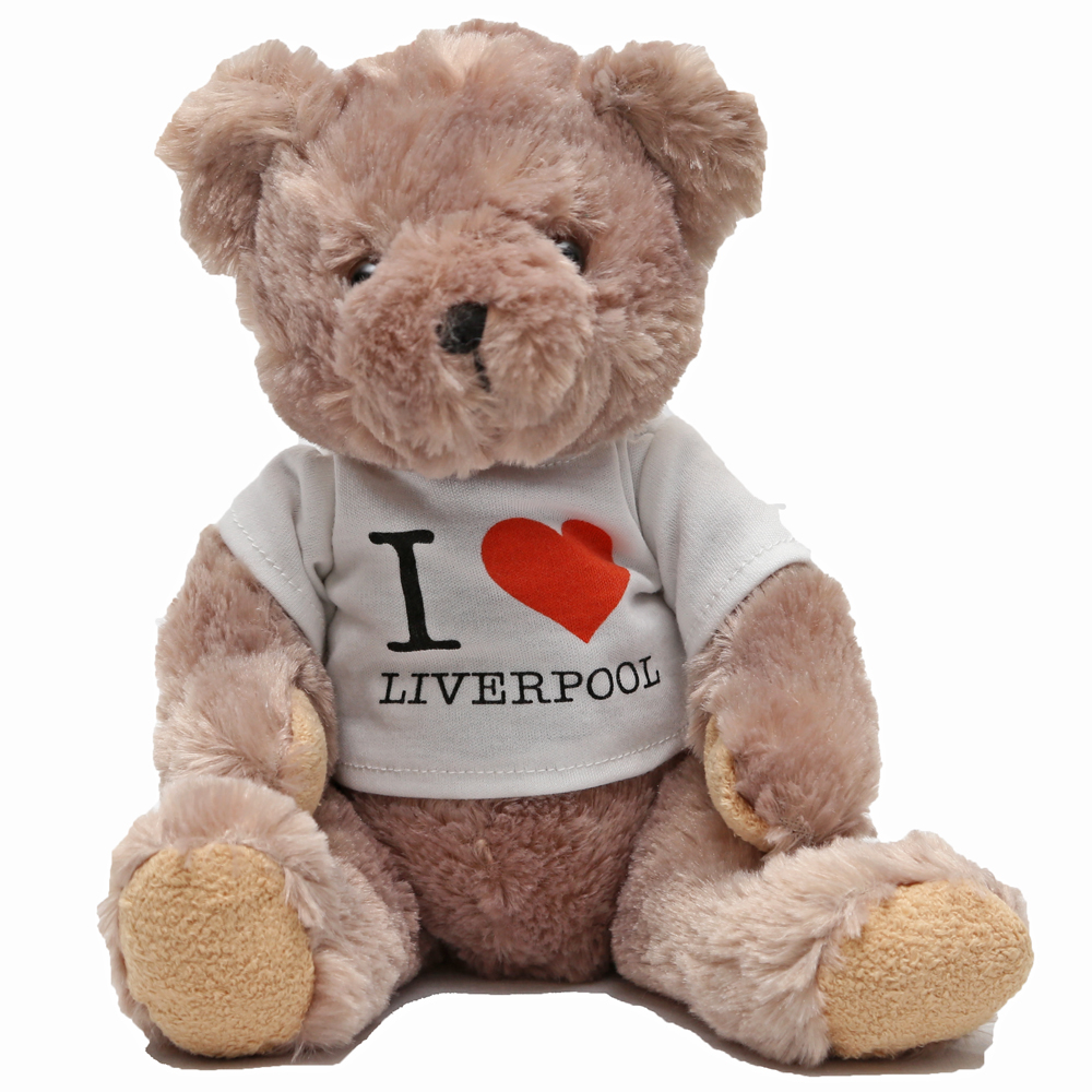 I Love Liverpool Teddy