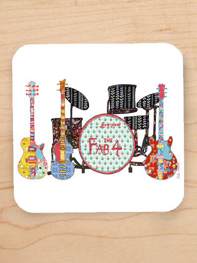 Beatles Coaster – Tula Moon