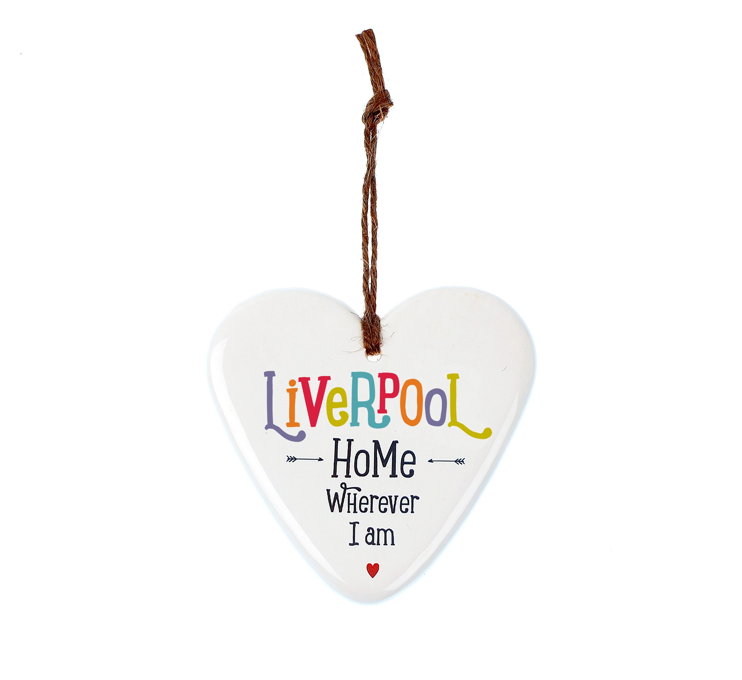 Love Your Nation – 'Liverpool Home Wherever I Am' Heart