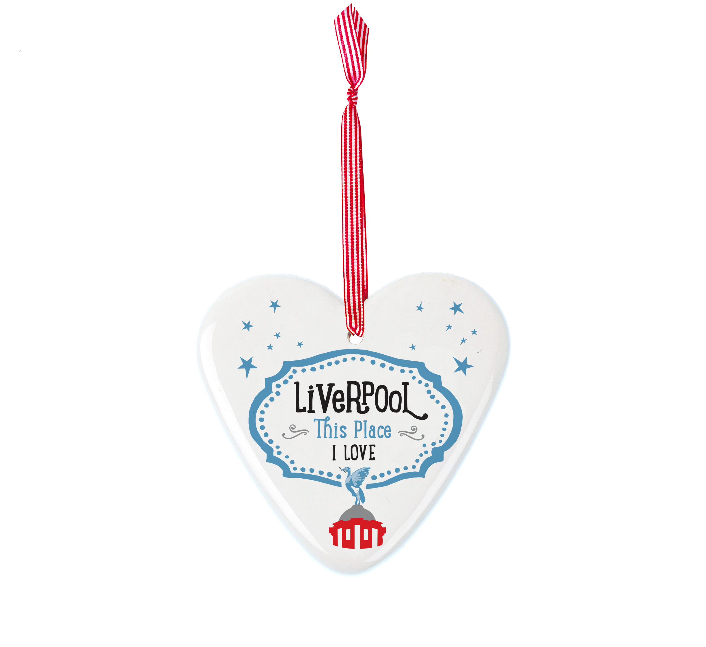 Liverpool Hanging Heart – 'This Place I Love' Heart