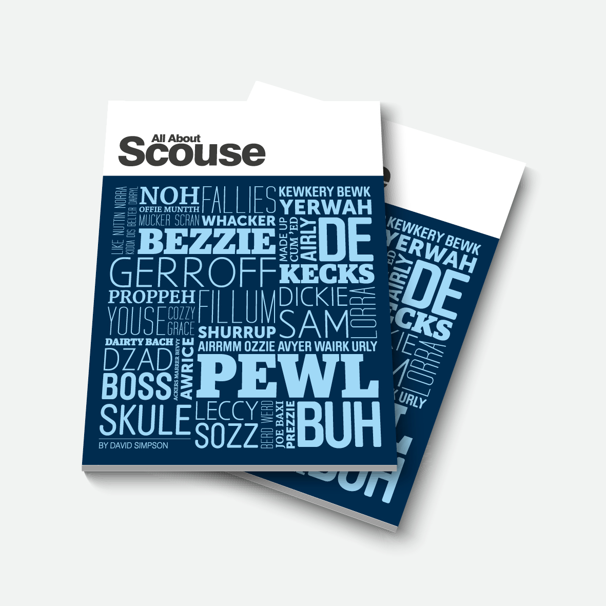 Scouse Book All About Scouse Liverpool Gift Company