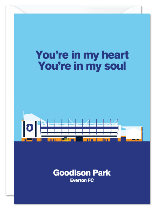 EFC Goodison Park Card
