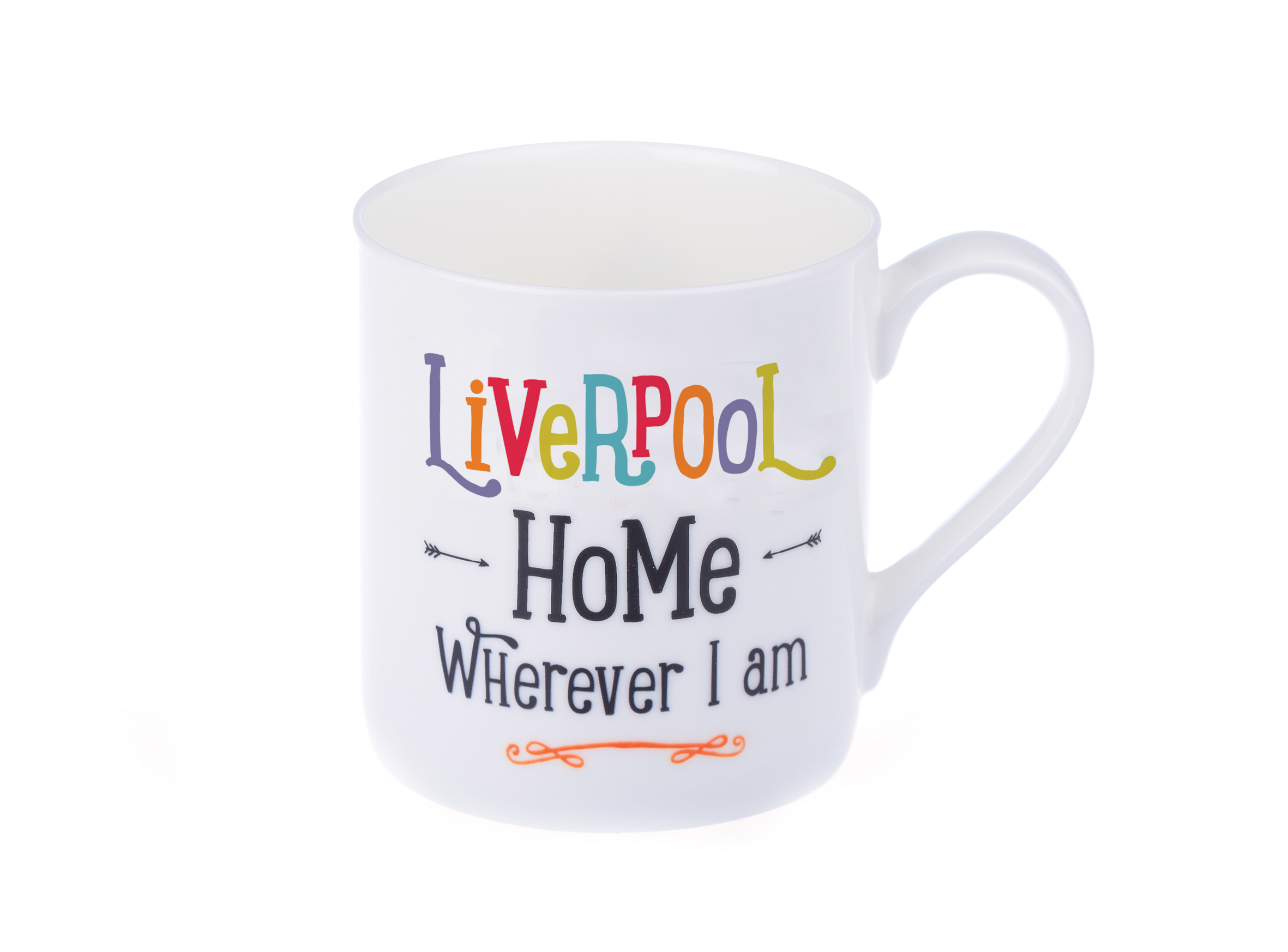 Liverpool Mug – Home Wherever I Am