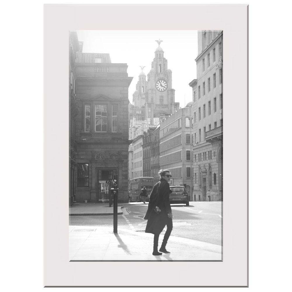 "Liverpool Liver Building Print ""Mademoiselle"""