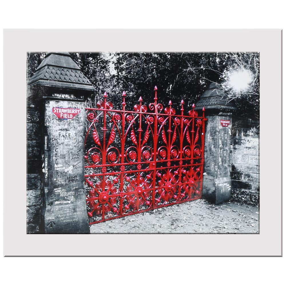 Strawberry Fields Print Liverpool Gift Company