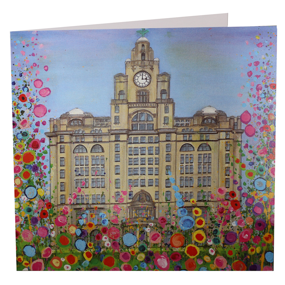Liverpool Liver Building Card – Jo Gough
