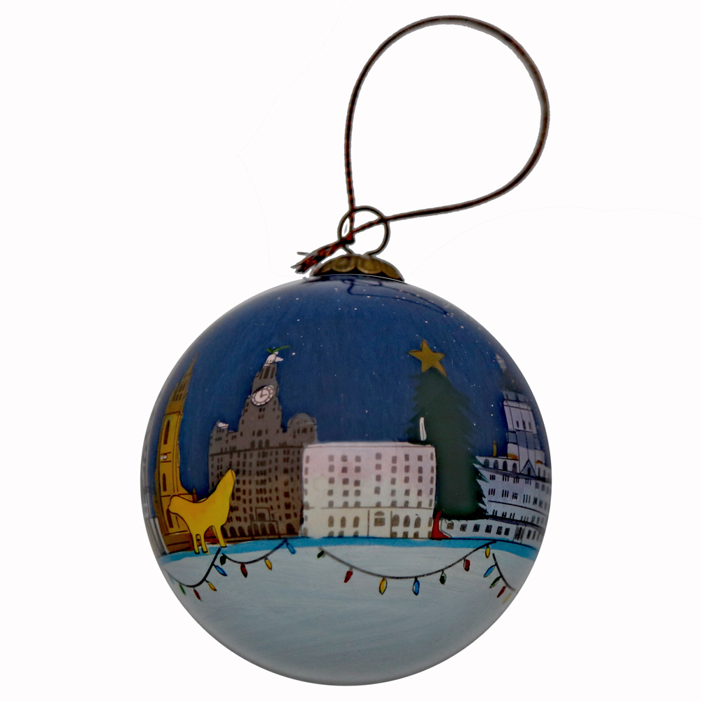 Liverpool Christmas Bauble