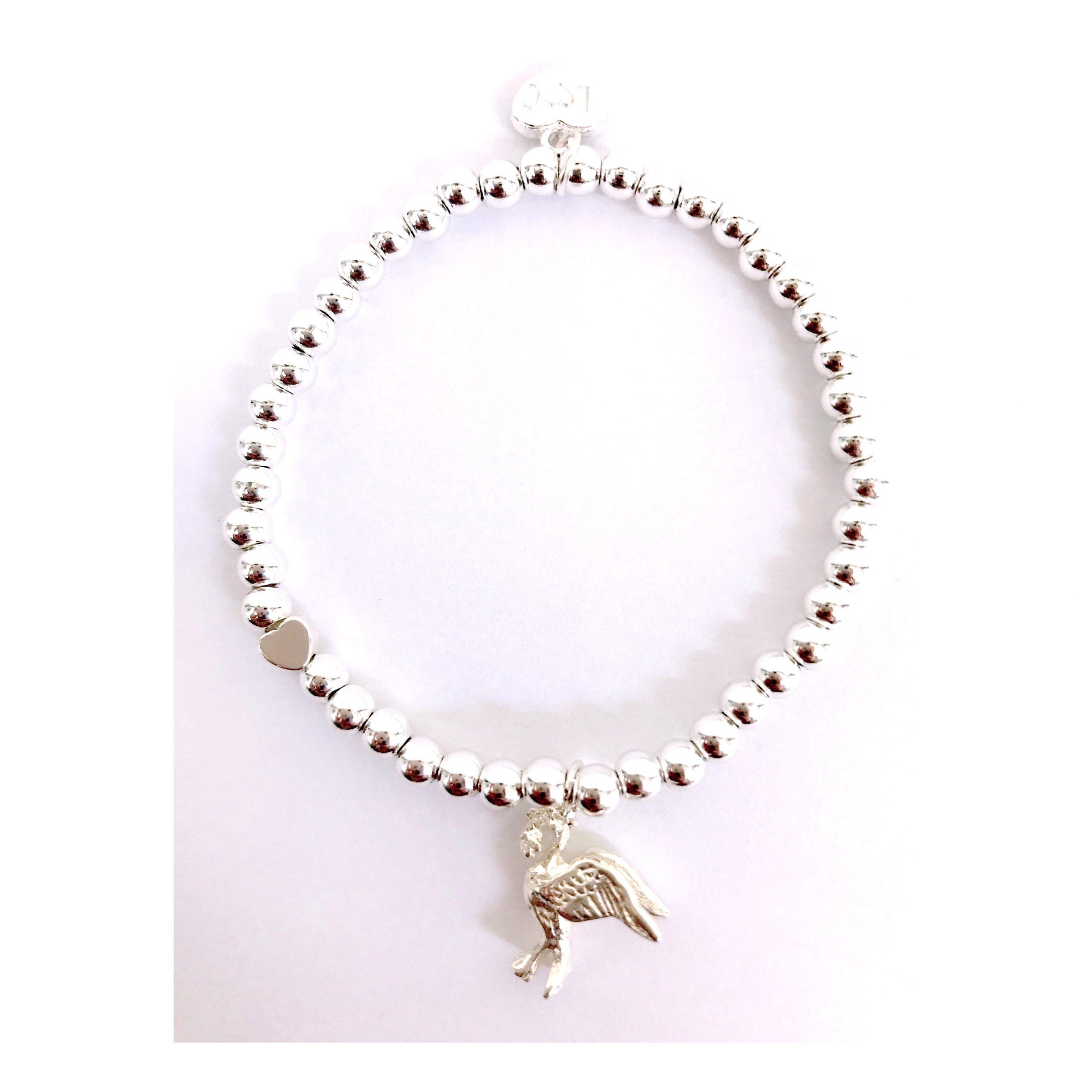 Liver Bird Bracelet – Silver