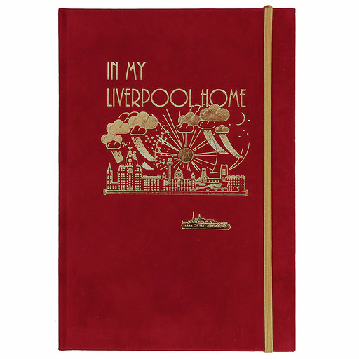 Liverpool Skyline Notebook – A5