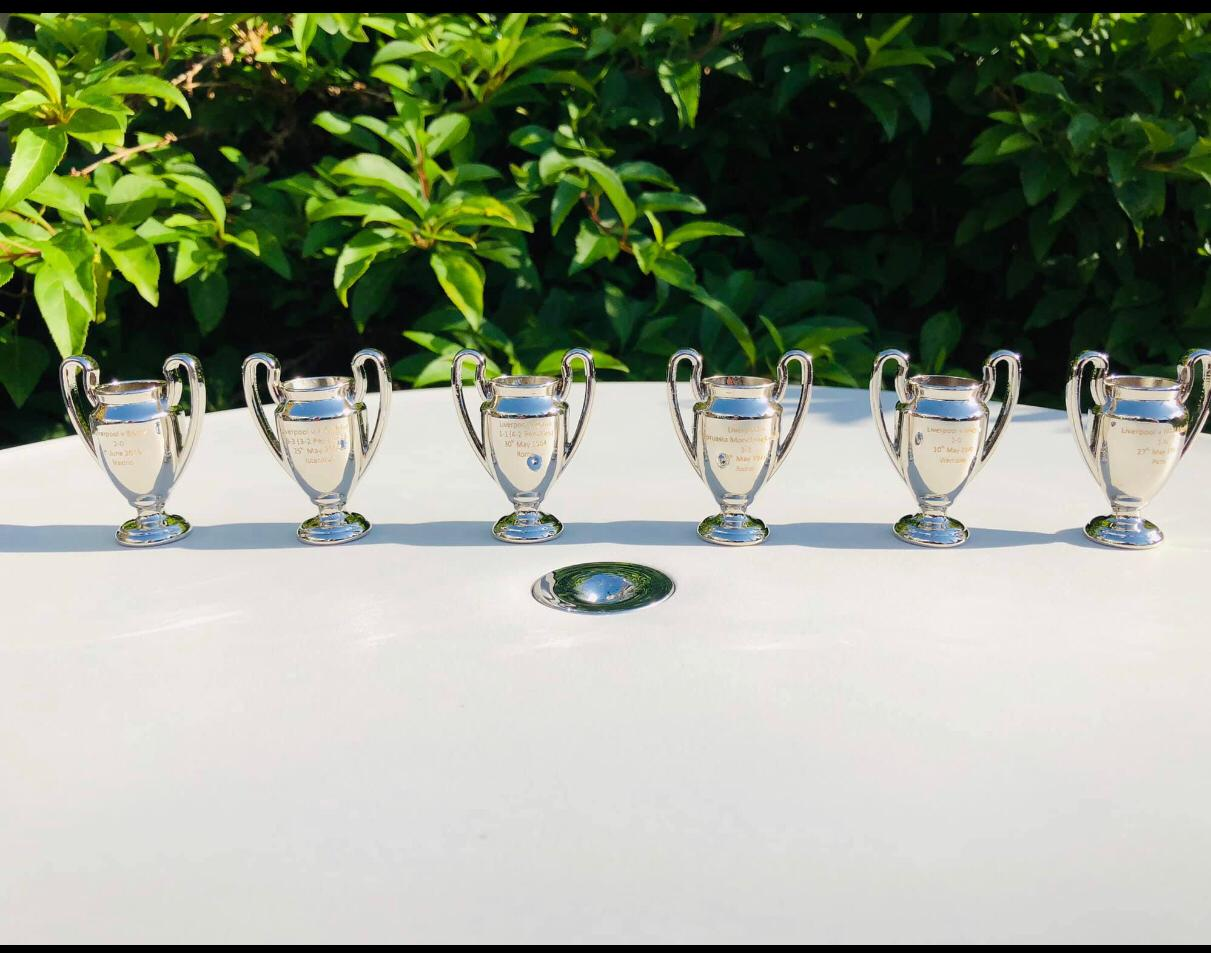 Liverpool Champions League Trophy Set