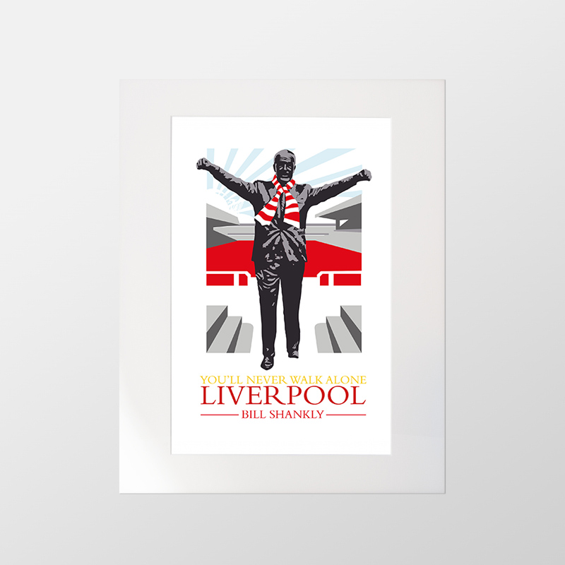 Bill Shankly Print – The Jones Boys