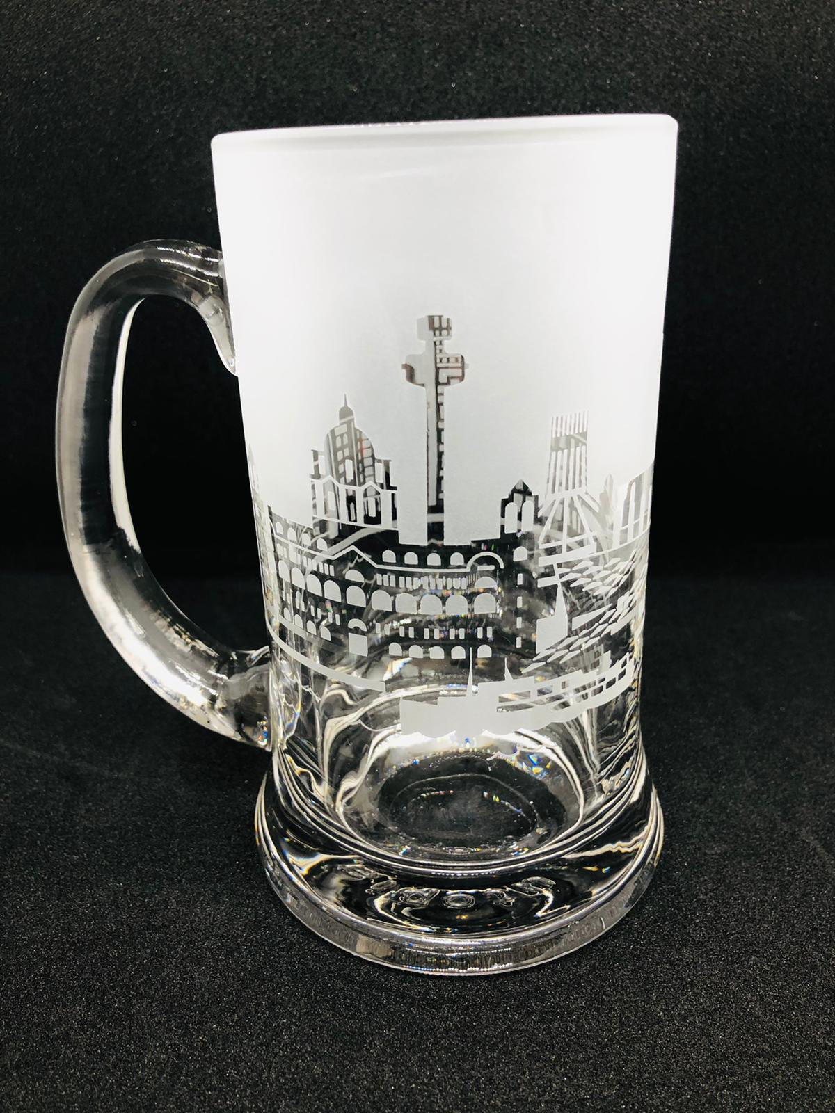 Liverpool Skyline Beer Tankard